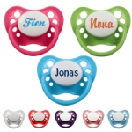 Pacifier with name
